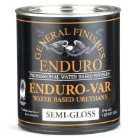 General Finishes Enduro-var Top Coat Semi-Gloss Quart