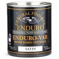 General Finishes Enduro-var Top Coat Satin Quart