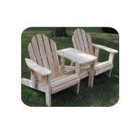 Woodworking Project Paper Plan to Build Twin Adjustable Adirondack Cha