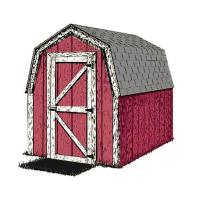 Woodworking Project Paper Plan to Build Small and Simple Shed