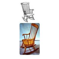 Woodworking Project Paper Plan to Build Boston Rocking Chair