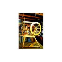 Woodworking Project Paper Plan to Build Small Spinning Wheel