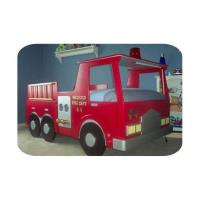 Woodworking Project Paper Plan to Build Deluxe Fire Engine Bed