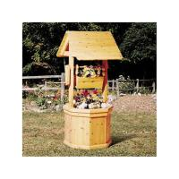 Woodworking Project Paper Plan to Build Wishing Well with Planter