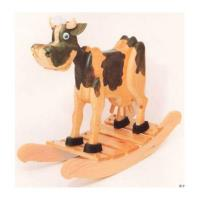 Woodworking Project Paper Plan to Build Bessie Cow Rocker