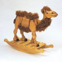 Woodworking Project Paper Plan to Build Lawrence the Camel Rocker