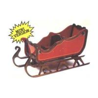 Woodworking Project Paper Plan to Build Mini Christmas Sleigh
