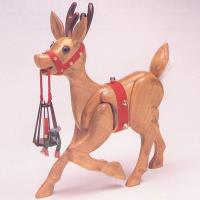 Woodworking Project Paper Plan to Build MINI Woodolph the Reindeer Pat