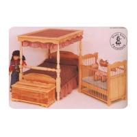 Woodworking Project Paper Plan to Build Doll Crib