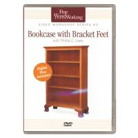 Bookcase with Bracket Feet Series 3