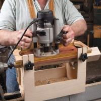 Spindle Fluting Jig Downloadable Plan