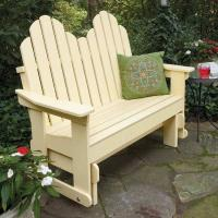 Adirondack Glider Downloadable Plan