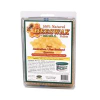 Briwax 100 Natural Beeswax Pellets 12oz