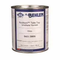 Behlen Rockhard Table Top Urethane Varnish Gloss Quart