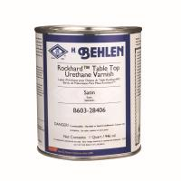 Behlen Rockhard Table Top Urethane Varnish Satin Quart