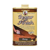 Howards Restor-A-Finish Ebony Brown 8oz