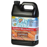 OneTime Wood Protector Clove Brown Gallon