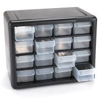 Akro-Mils 16 Drawer Stackable Storage Center Model 10716