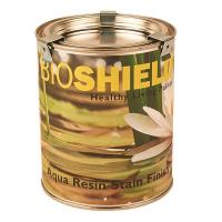 BioShield Aqua Resin Stain Finish Clear 0.75 Liter