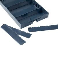 Divider for Drawer-SYS Medium 5 pcs Anthracite