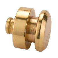Vertex Jewelry Box Feet/Knob Polished Brass 3/4