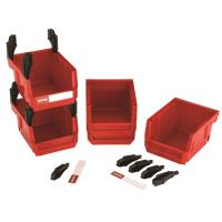 WoodRiver Stackable Bins 5-Bin set