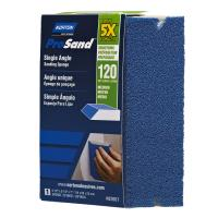 Norton 5X Small Area Single Angle Sanding Sponge 120 Grit