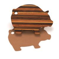 Cutting Board Template - Pig Shape 15