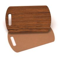 Cutting Board Template - Clip Board Shape 15-1/2