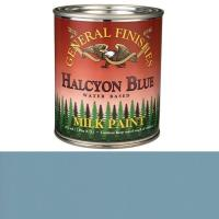 General Finishes Halcyon Blue Milk Paint Pint