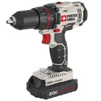 Porter-Cable PCC601LB 20-volt 1/2-Inch Lithium Ion Drill/Driver Kit