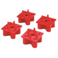 Woodpeckers X-Mat Assembly System Anchors Red 4pk