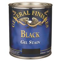 General Finishes Gel Stain Black Quart