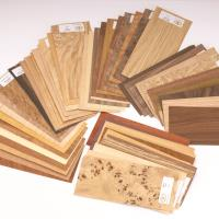 Wood Identification Kit Veneer Sample Pack 50-piece