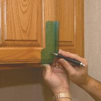 HIGHPOINT Cabinet Door Knob and Pull Template