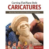 Carving Flat-Plane Caricatures