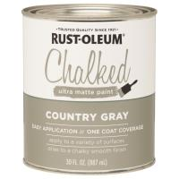 Rustoleum Chalked Paint Country Gray