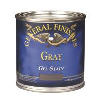 General Finishes Gray Gel Stain 1/2 Pint