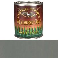 General Finishes Water Based Wood Stain Weathered Gray Pt