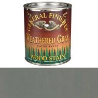 General Finishes Water Based Wood Stain Weathered Gray Qt