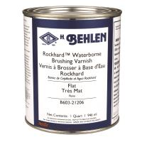 Rockhard Waterborne Brushing Varnish Flat Quart