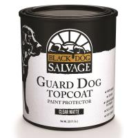 Black Dog Salvage 'Guard Dog' Furniture Paint Topcoat Matte Quart