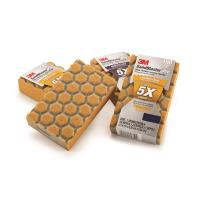 3M SandBlaster Pro Dust Channeling Sanding Sponges Assortment Pack