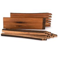 Whiskey Wood Bourbon Whiskey Barrel Staves Cutting Board Kit Small