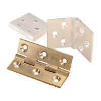 Cabinet Hinge Polished Brass 2
