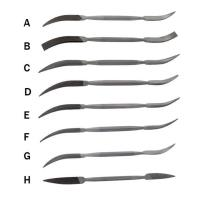 Riffler Files Set of 8 (A-H)