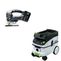 Festool Carvex PSBC 420 EB Jigsaw with T-LOC   CT 26 Dust Extractor Pa