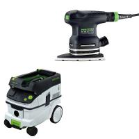Festool DTS 400 EQ Sander with T-LOC   CT 26 Dust Extractor Package