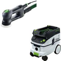 Festool RO90 Multi-purpose Sander With T-LOC   CT 26 Dust Extractor Pa