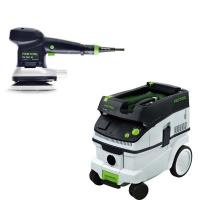 Festool ETS 150/3 EQ Random Orbital Sander with CT 26 HEPA Dust Extrac